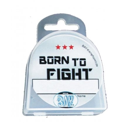 Dose Born to Fight  mit NAME Beschriftung