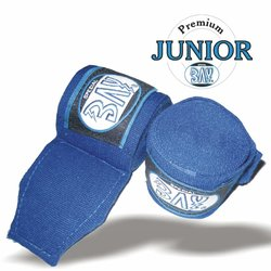 Junior Big Klett Boxbandagen 2,5 m blau
