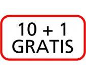 10 + 1 GRATIS