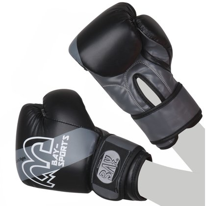 Mini Fighter Let´s Fight Kinder Boxhandschuhe schwarz/grau 6 - 8 Unzen