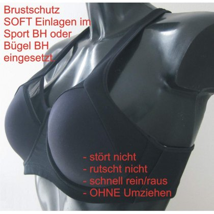 Schalen Quickly Inserted für Fix Brustschutz Soft Damen