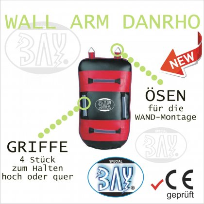 Wall Arm Body 3 in 1 Schlagpolster Wand Montage 65 cm