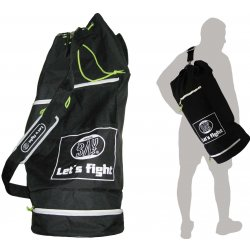 Seesack Let´s Fight shoulder bag Sporttasche schwarz 70 cm