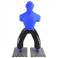 Standboxsack Thai Dummy Figur MIX Blue-Man für Vollkontakt
