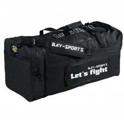 Sporttasche Let´s Fight X-Large Kampfsport schwarz/gold...